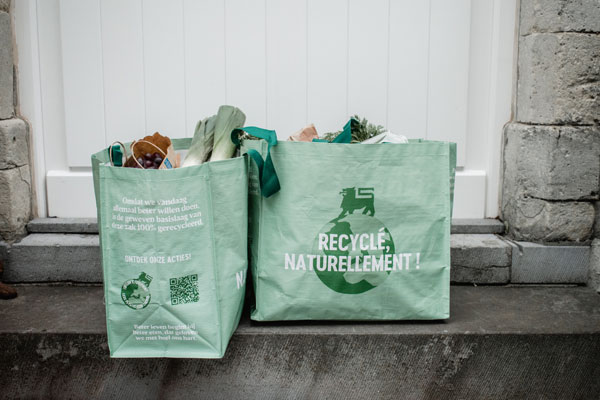 Sac à course Delhaize recycled